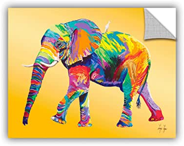 """ArtWall Linzi Lynn's 'The Ride' Appeelz Removable Graphic Wall Art, 18 by 24"""""""