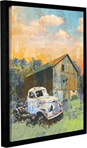 """ArtWall Greg Simanson's Abandoned Gallery Wrapped Floater Framed Canvas, 14 x 18"""""""