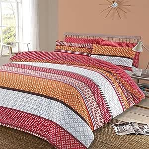 Dreamscene Lola 羽绒被套,带枕套双面床上用品套装 多色 Double LOLASPC02
