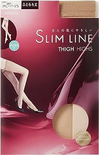 (厚木)ATSUGI 长筒袜 SLIM LINE(细线)大腿长 长筒袜 〈3双装〉