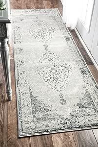 nuLOOM 传统抽象复古小地毯