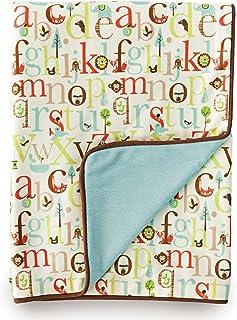 Skip Hop 毛毯 字母动物园