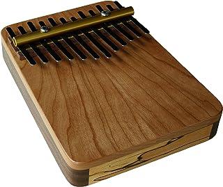 Zeither Heaven Artisan Triple Wood 12 Note 樱桃木琴,黑胡桃木和斑枫木,美国制造