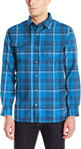 Mountain Khakis 男士克里斯托弗羊毛内衬衬衫 XX-L 蓝色 -807-XX-Large