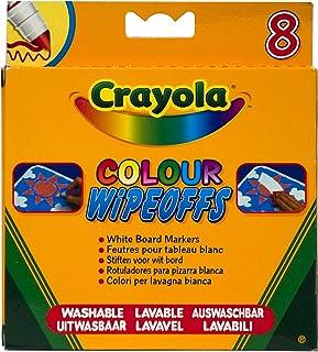 Markery Crayola do bialej tablicy 8 sztuk