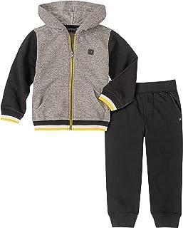 Calvin Klein 卡尔文·克莱恩 小男童 连帽衫&慢跑裤 2件套