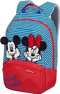 Samsonite 新秀丽 迪士尼 Ultimate 2.0 儿童帆布背包 S + 35厘米,11升,多色(米妮/米奇条纹)