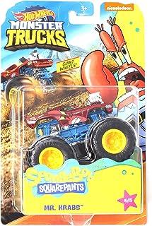 HW Monster Trucks Mr. Krabs Spongebob Squarepants 系列 4/5 巨型车轮 1:64 比例 2020