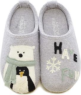 Living Kitzbühel 中性儿童拖鞋 北极熊 & 企鹅有趣味拖鞋