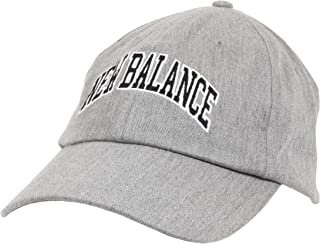 New Balance 男式和女式标志 6 片式弧形帽檐帽