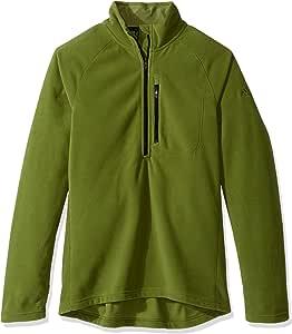 adidas 户外男式 Reachout 1/2 拉链套头衫 XX-L 绿色 AZ7324-310