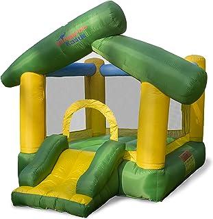 GALVANOX 袋鼠城堡儿童弹跳屋,充气室内/室外月亮弹跳跳跳跳跳椅和滑梯带鼓风机(9 英尺 x 5.9 英尺 x 7.5 英尺)