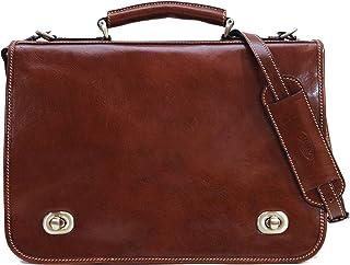 Floto Luggage Roma 邮差包 棕色 均码