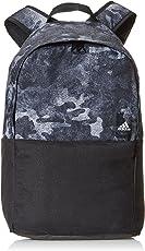 adidas 阿迪达斯 中性 双肩背包 CG0523 黑/透明色/白 M