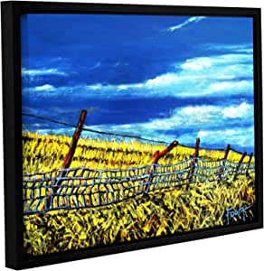 ArtWall Gene Foust's Uncharted Grounds Gallery-Wrapped Floater-Framed Canvas, 24 x 32""