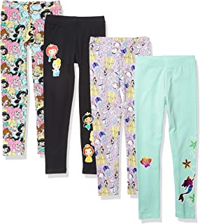 Star Wars 斑点斑马 - 女童幼儿和儿童 4 条装打底裤