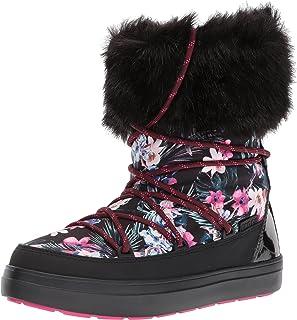 crocs 女式 lodgeptgrpbtw 雪地靴