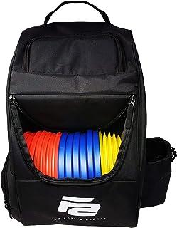 Fit Active Sports 飞盘高尔夫背包 | 28 张碟容量 | 轻质耐用 | 2 个侧袋,一个带水瓶支架 | 加垫肩带
