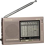 TECSUN 德生 R-9710 二次變頻高靈敏度全波段立體聲收音機(顏色隨機 珍珠白、棕褐色、珍珠紅)