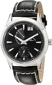 Zeno 男士 6662-7004-G1 Gentlemen 模拟显示石英黑色手表