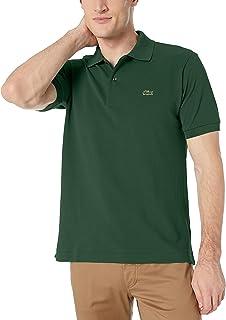 Lacoste 男式凸纹面料短袖 L.12.12 经典修身版polo 衫,L1212  绿色 4X-Large
