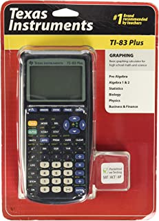 Texas instruments ti-83 PLUS graphing 计算器