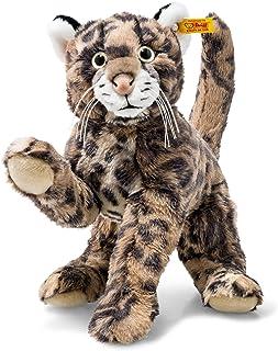 Steiff 064234 Ozzi Tiger 貓條紋軟玩具,棕色,32 厘米