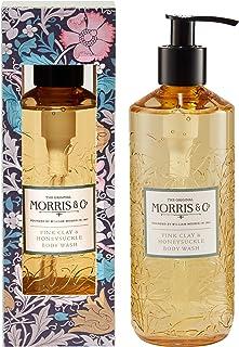 Morris & Co. 粉红色粘土和金银花沐浴露 320ml