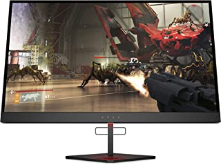 OMEN X 27(27英寸 / HDR QHD 240Hz)游戏显示器(AMD FreeSync,HDMI,DisplayPort,音频输出,2 x USB 3.0,2560 x 1440,响应时间1毫秒)