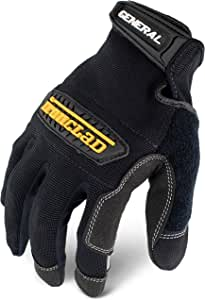 Ironclad 通用多功能手套 GUG-06-XXL- 双加大号 中 黑色 GUG-03-M