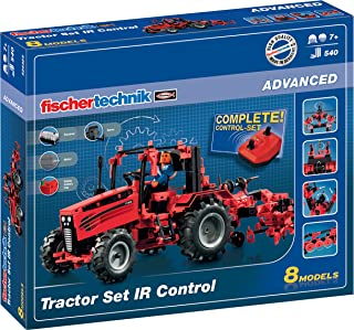 fischertechnik 红外控制拖拉机套装