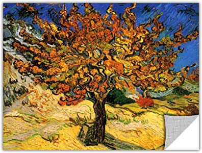 "ArtWall Art Appealz ""Mulberry Tree"" Removable Wall Art Graphic by Vincent Van Gogh, 24 by 32-Inch"