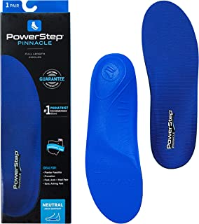 "Powerstep Pinnacle Orthotics Insole 蓝色 Size""Asm"" (Men's 3-3.5)/ Women's (5-5.5)"