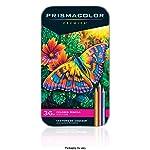 Prismacolor 三福霹雳马 36色铁盒彩铅套装 彩色铅笔 油性彩芯 松木笔杆 软质芯材