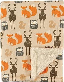 Hudson Baby 双层毛毯 Woodland Creatures 均码