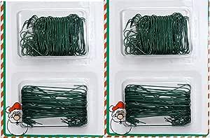 ALAZCO 圣诞节假日装饰挂钩 300 Green AZ300XMG