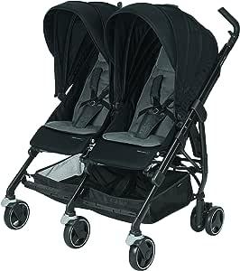 Bébé Confort Dana for 2,紧凑型双婴儿车(适用于双胞胎/同龄儿童),颜色可自由选择