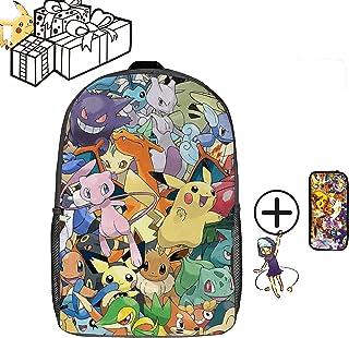 Pokemon 宠物小精灵 DZC 包 17英寸(约43.2厘米),中性儿童背包 Traveling 17inch