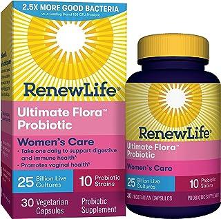 Renew Life Ultimate Flora女性呵护益生菌- 250亿- 30粒蔬菜胶囊
