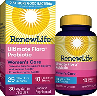 Renew Life Ultimate Flora女性呵護益生菌- 250億- 30粒蔬菜膠囊