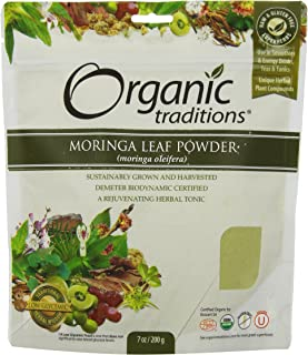 Natural Traditions Moringa Leaf Powder, 7 Ounce