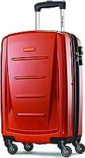 Samsonite 新秀丽 Winfield 2系列 硬壳 20英寸行李箱 橙色