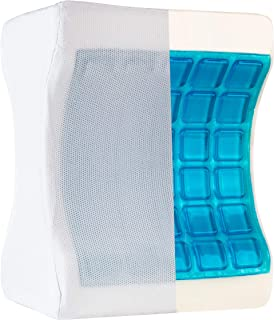 Healthy Spirit Cooling 膝枕 | *泡沫和冷却凝胶腿枕 缓解背部* Sciatica 枕头膝*,1 件