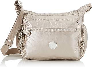 Kipling 凯浦林 女式 Gabbie 单肩包 Silver (Metallic Glow) 35.5 x 30 x 18.5 cm