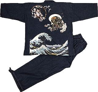 Edoten 男式日本牛仔布样品印花图案