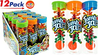 JA-RU Jax 玩具大号(6 件装)插孔。 | 商品 #731-6 12 Pack Tube with Display