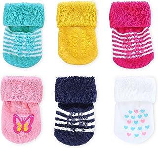 Carter's 女童折叠袜(6 双装)