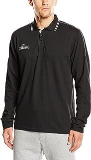 Spalding 3002796 男式 Polo 长袖 T 恤