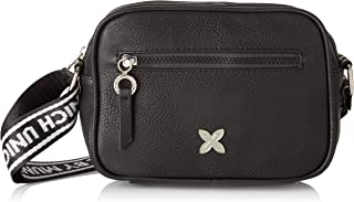 Munich CROSSBODY TULLE GUN-BLACK,女士购物者,黑色,5.5 x 15.5 x 20.5 厘米(宽 x 高 x 长)