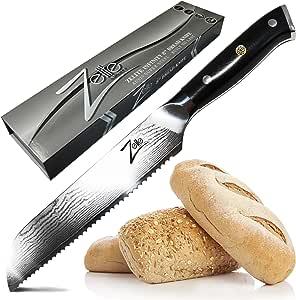 """ARSj-系列组 1 黑色 Bread Knife 8"""" TY-N6YK-3OO9"""